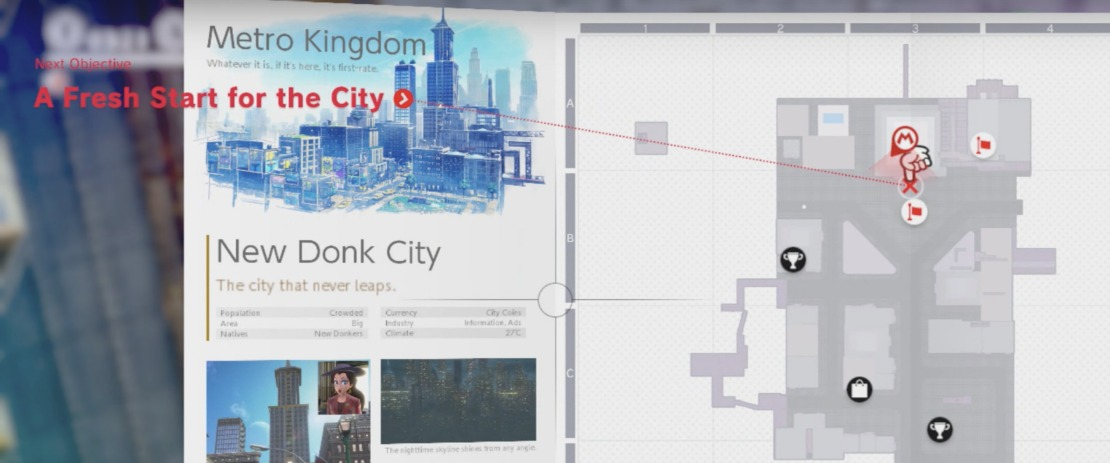 Super Mario Odyssey New Donk City Playthrough