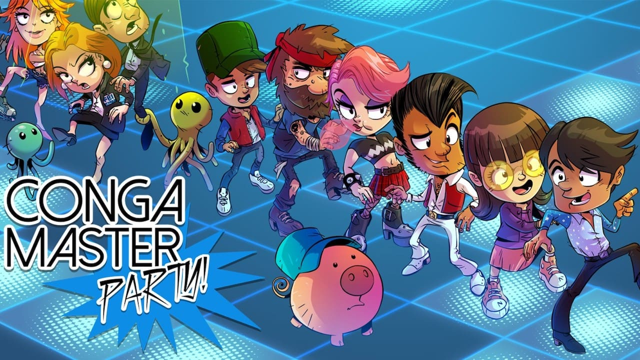 Conga Master Party! Review Header
