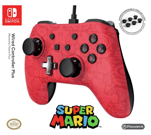 powera release mario and zelda wired controller plus for. Black Bedroom Furniture Sets. Home Design Ideas