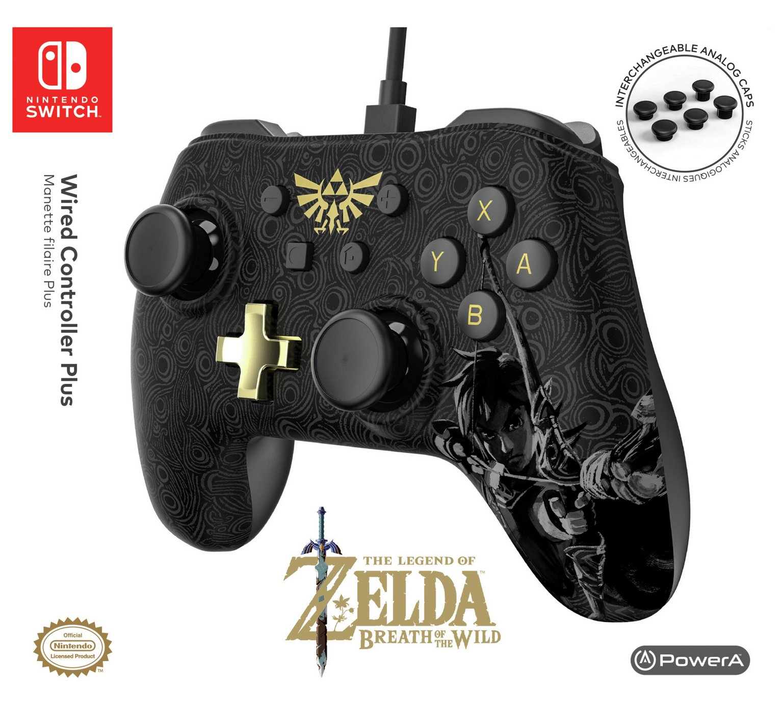 Powera Release Mario And Zelda Wired Controller Plus For Nintendo Switch Nintendo Insider