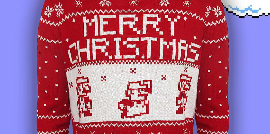 Nintendo Christmas Sweaters Will Get You In The Festive
