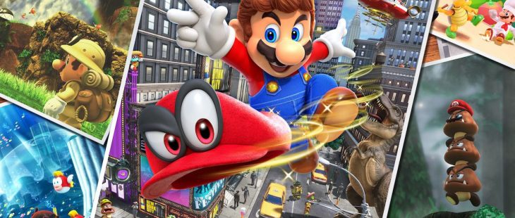 Super Mario Odyssey Review Header