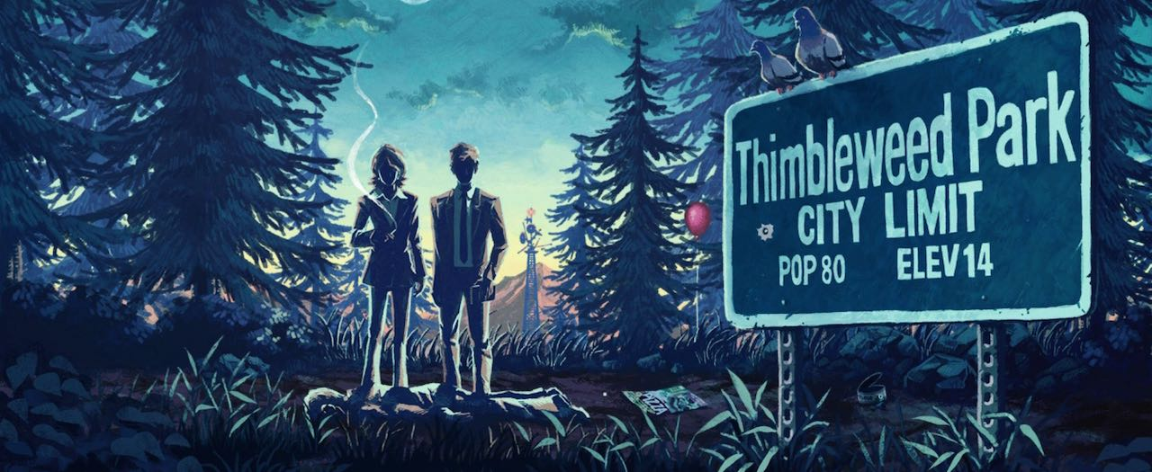 Thimbleweed Park Review Header