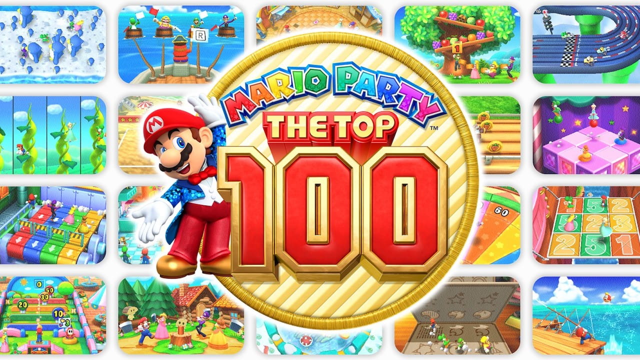 Mario Party: The Top 100 Review Header