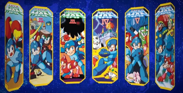Mega Man Legacy Collections 1 & 2 Coming to Nintendo Switch