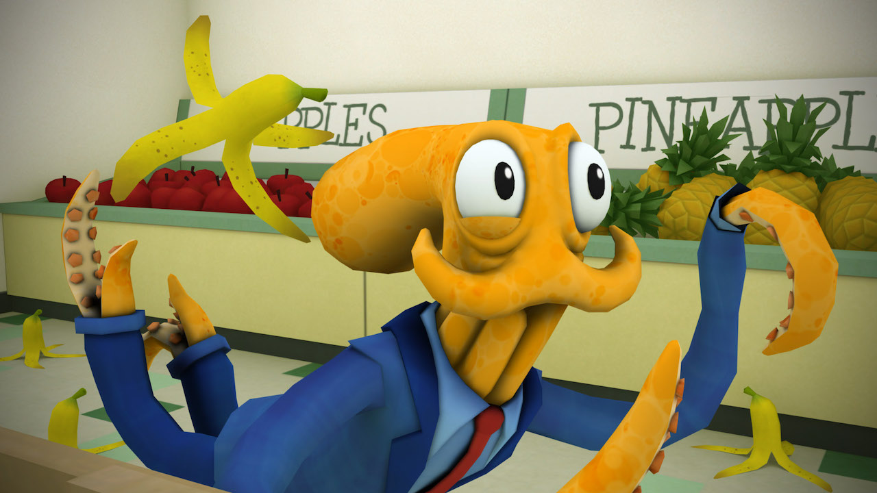 Octodad: Dadliest Catch Review Header