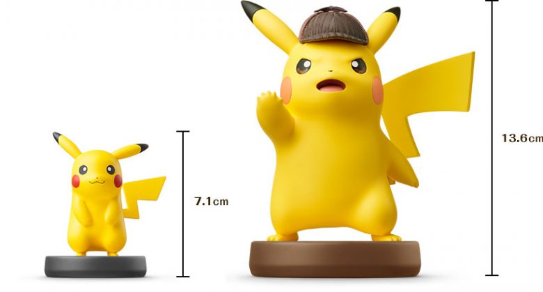 Detective Pikachu amiibo and game announced for North America