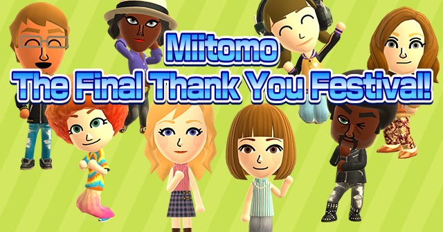 Miitomo to be shut down after two years