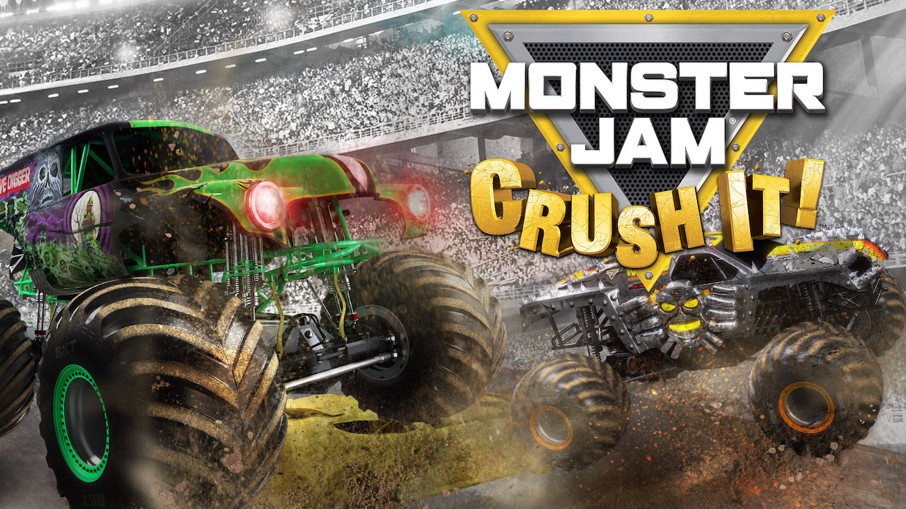 Monster Jam: Crush It! Review Header