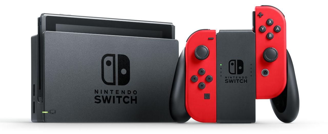 Nintendo Switch Red Joy-Con Photo