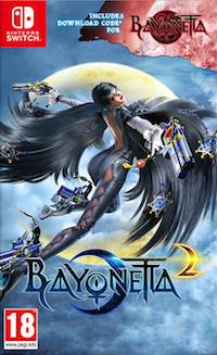 Bayonetta 2 Switch Box Art