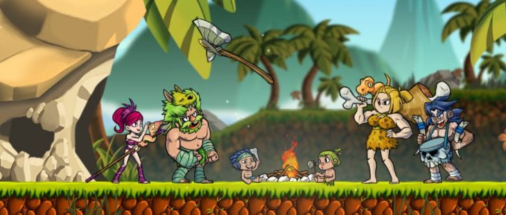 Caveman Warriors Main Header