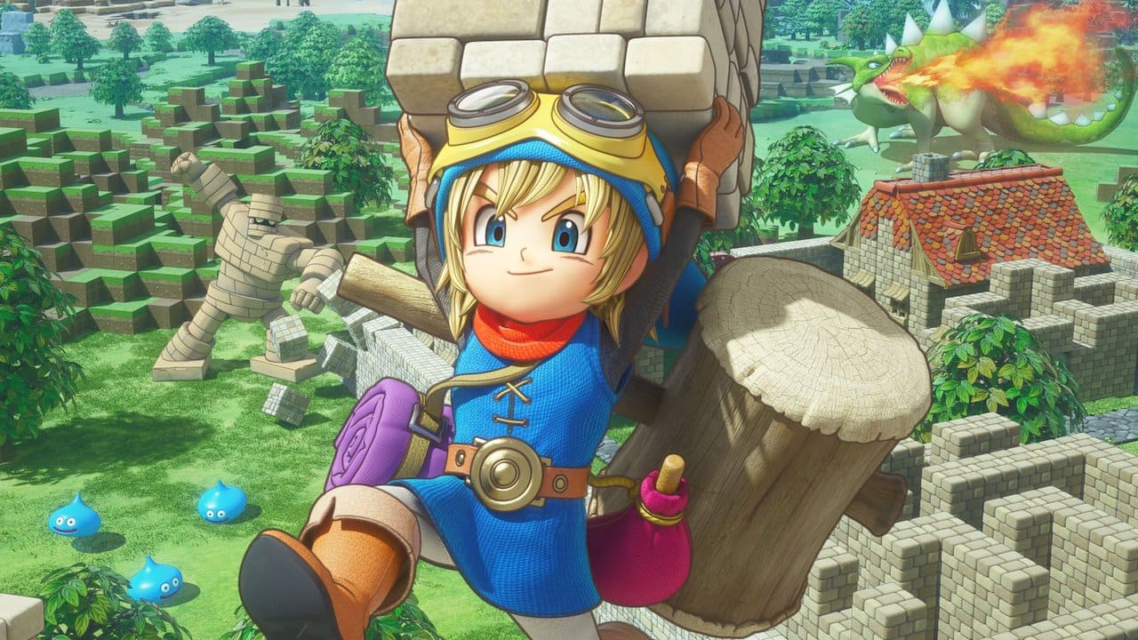 Dragon Quest Builders Review Header