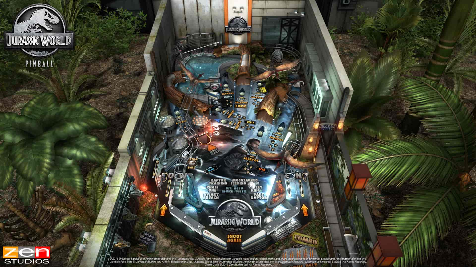 Jurassic Park Pinball Review Screenshot 2