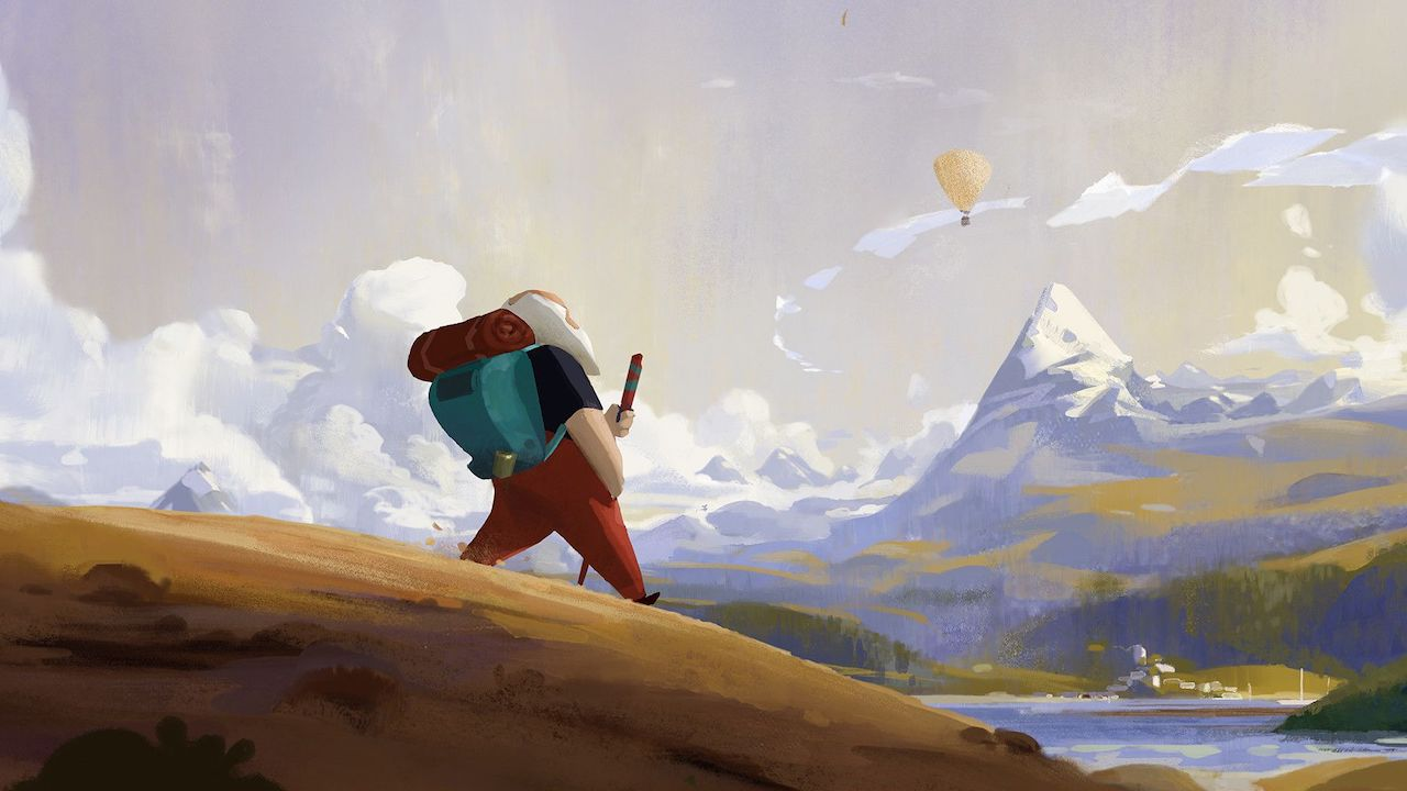 Old Man's Journey Review Header