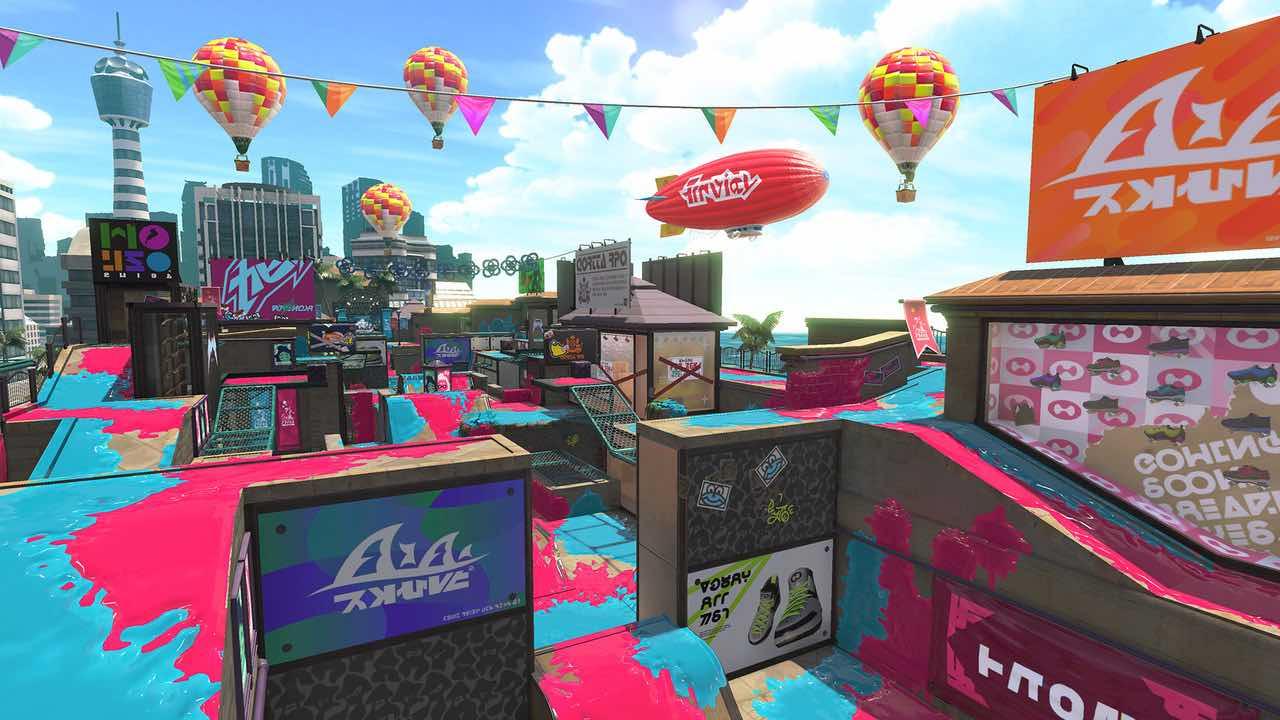 Splatoon 2 Arowana Mall Screenshot 1