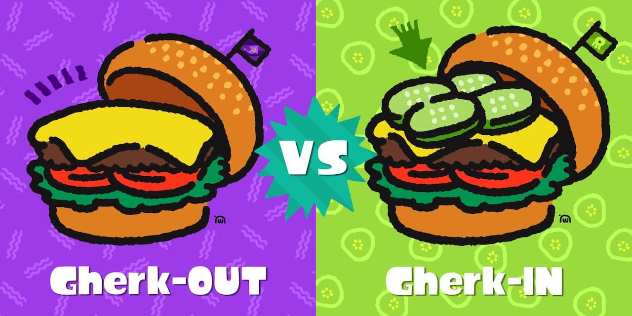 Splatoon 2 Splatfest Gherkin