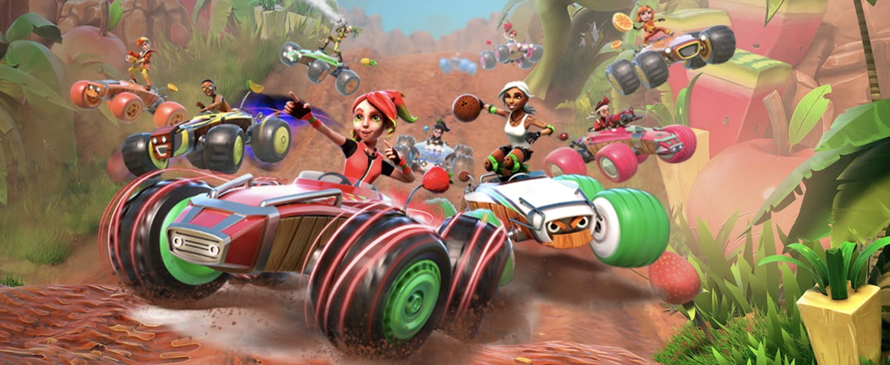 All-Star Fruit Racing Artwork