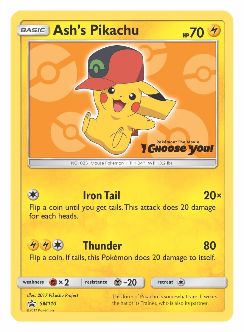Ash's Pikachu Hoenn Cap Pokémon TCG Card Image