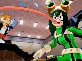 Asui Tsuyu My Hero Academia: One's Justice Screenshot