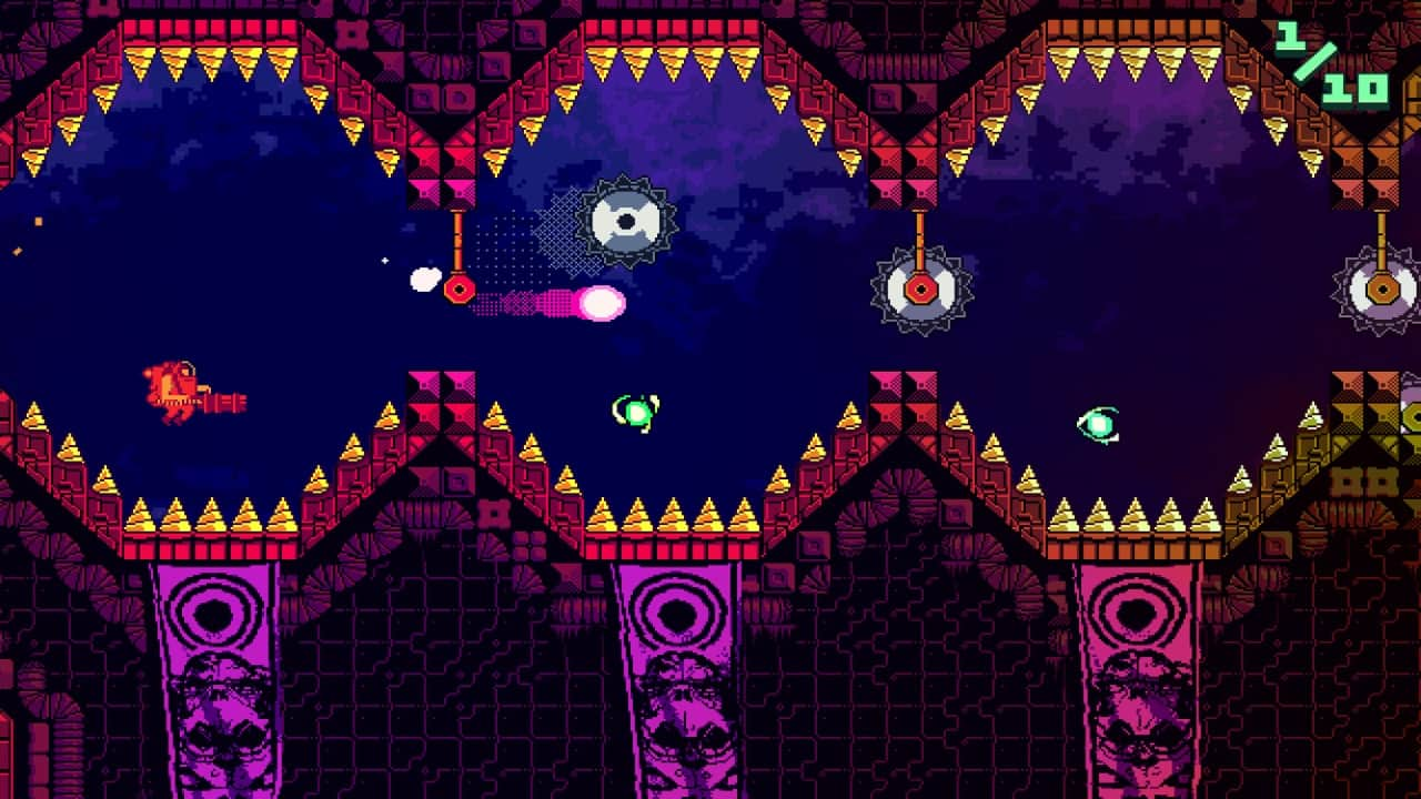 ATOMIK: RunGunJumpGun Review Screenshot 1