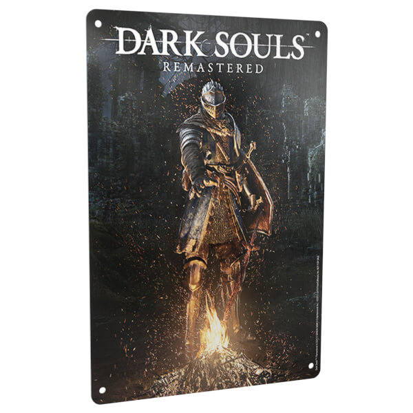 Dark Souls Remastered Metal Plate Photo
