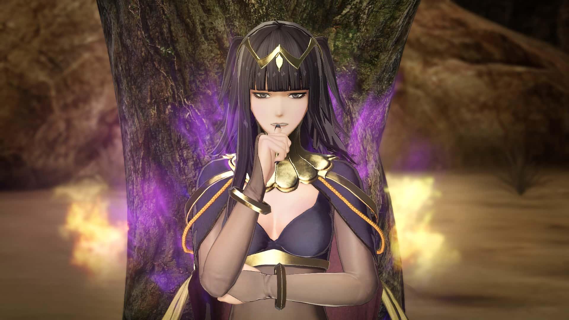 Fire Emblem Warriors Tharja Screenshot