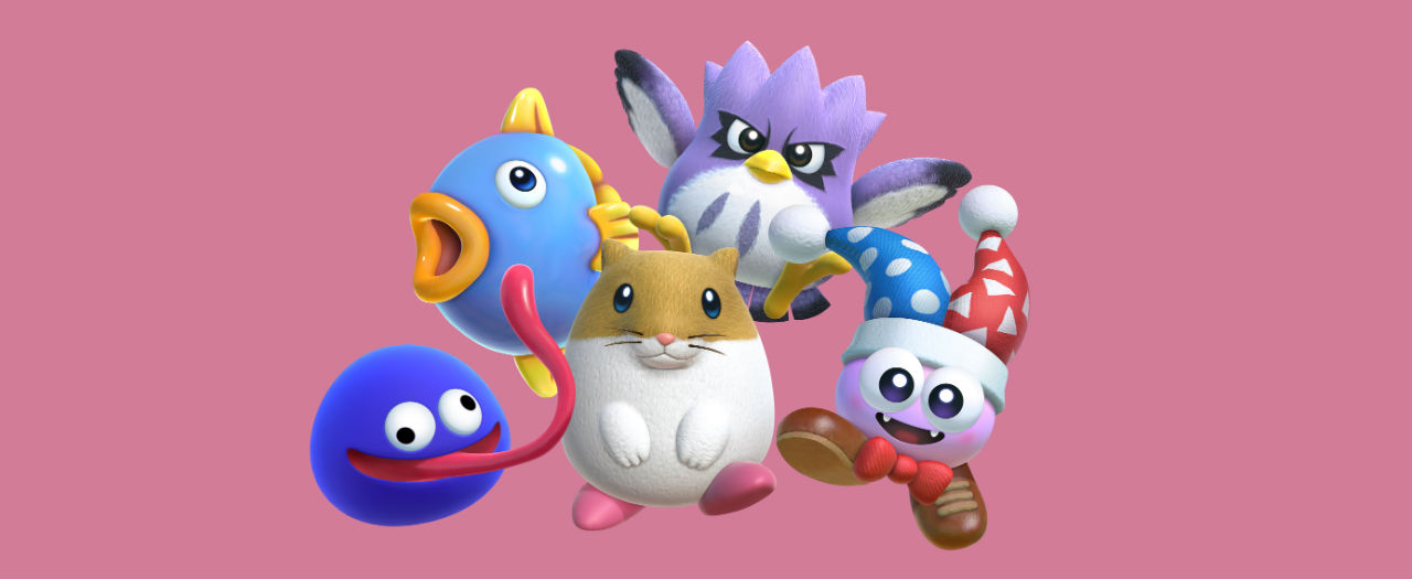 Kirby Star Allies Dream Friends Artwork
