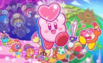 Kirby Star Allies Launch Artwork