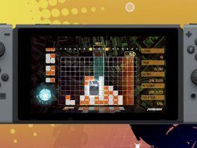 Lumines Remastered Switch Screenshot