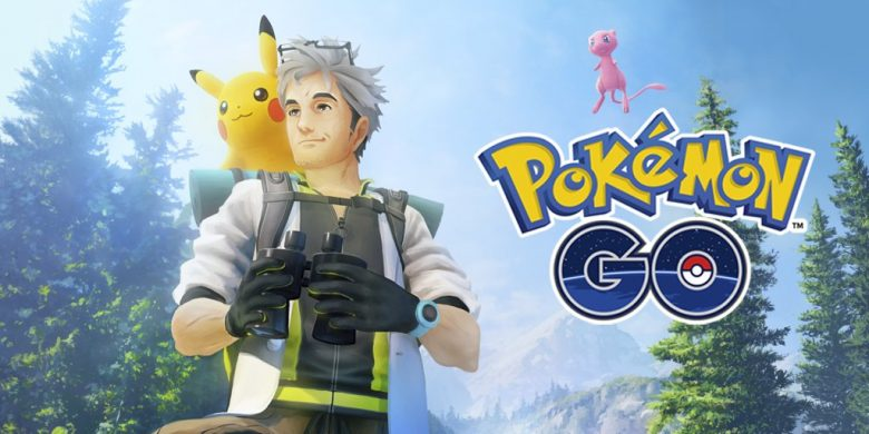 Mew Professor Willow Pokemon GO Image
