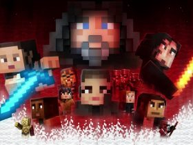 Minecraft Star Wars Sequel Skin Pack Artwork
