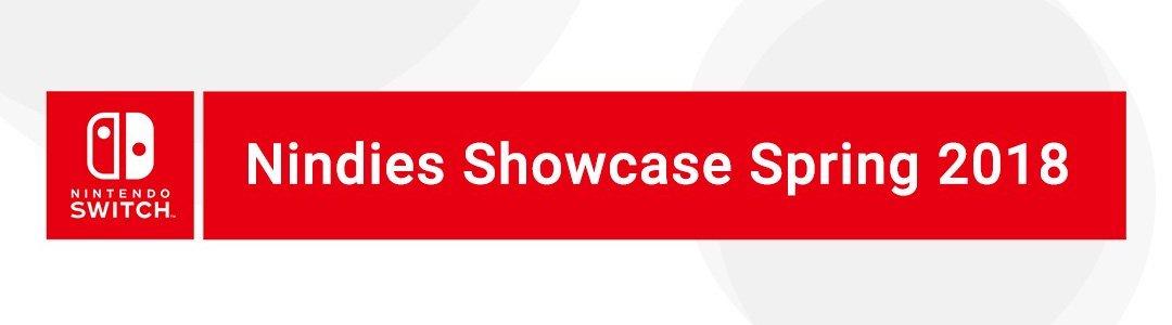 Nindies Showcase Spring 2018 Logo