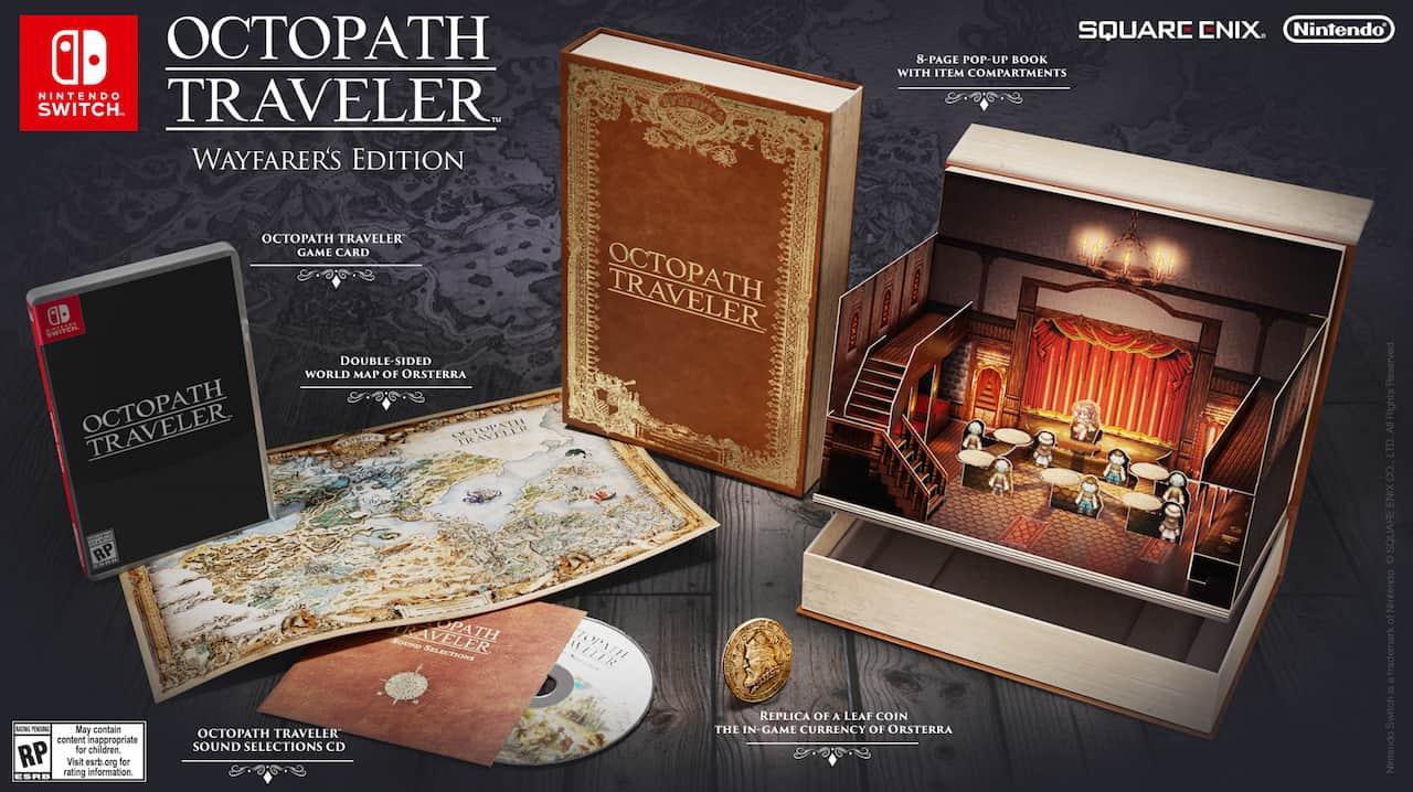 Octopath Traveler Wayfarer's Edition Photo