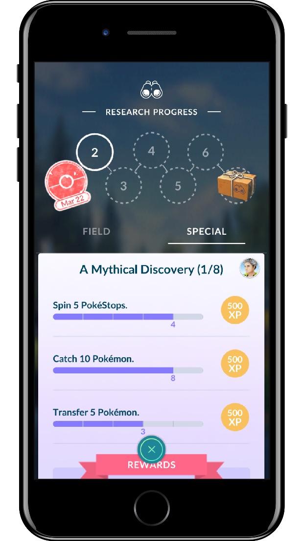 Pokémon GO Field Research Screenshot 3