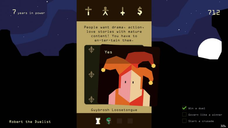 Reigns: Kings And Queens Screenshot