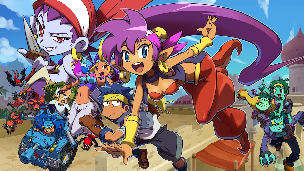 Shantae And The Pirate's Curse Review Header