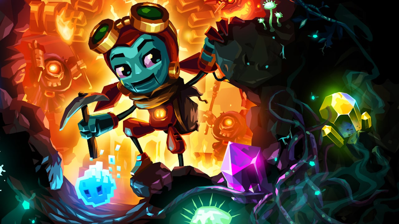 SteamWorld Dig 2 Review Header