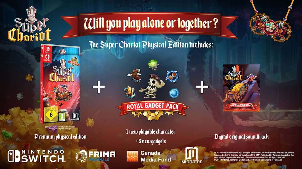 Super Chariot Physical Edition Image