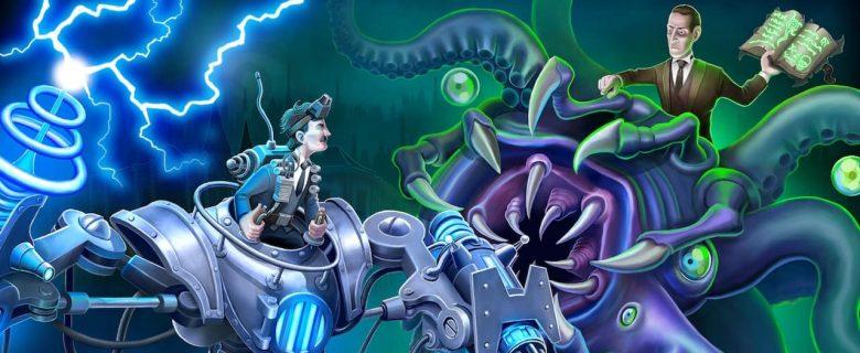 Tesla vs Lovecraft Artwork