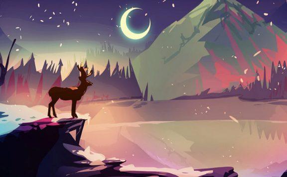 The Deer God Main Header