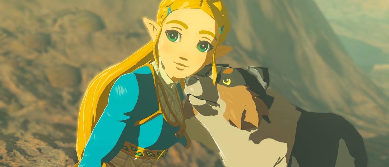 Zelda Dog Breath of the Wild Screenshot