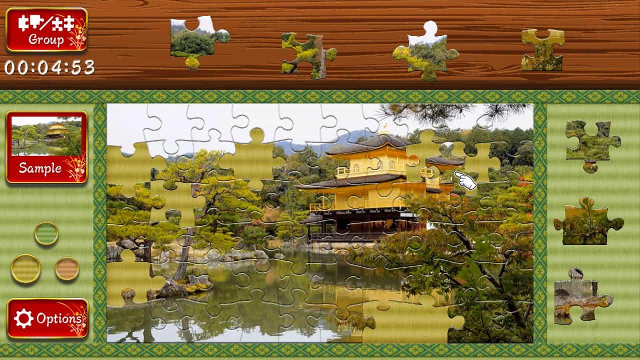 Animated Jigsaws: Beautiful Japanese Scenery Review Screenshot 1