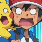 Ash Pikachu Shocked Anime Screenshot