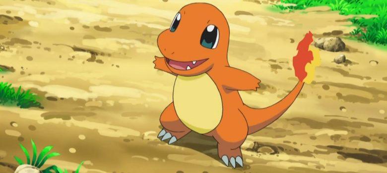 Charmander Pokémon Anime Screenshot