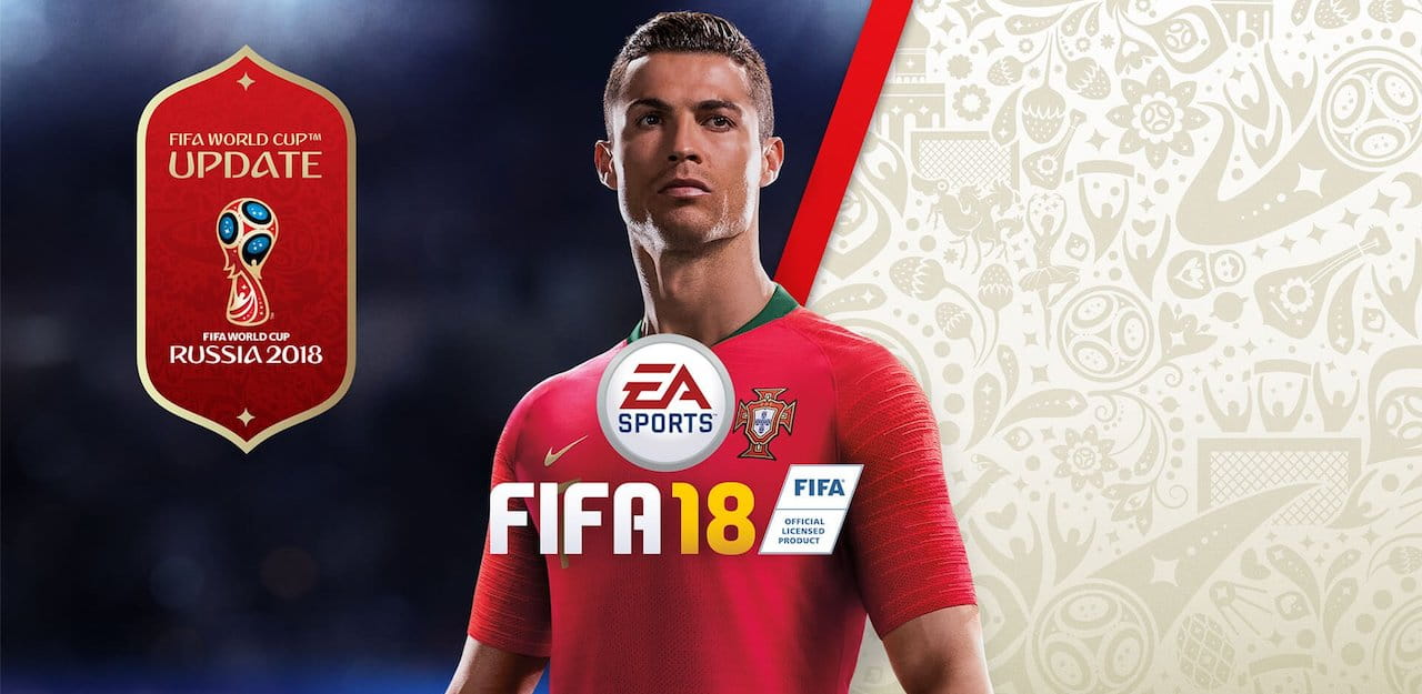 FIFA 18 World Cup Update Artwork