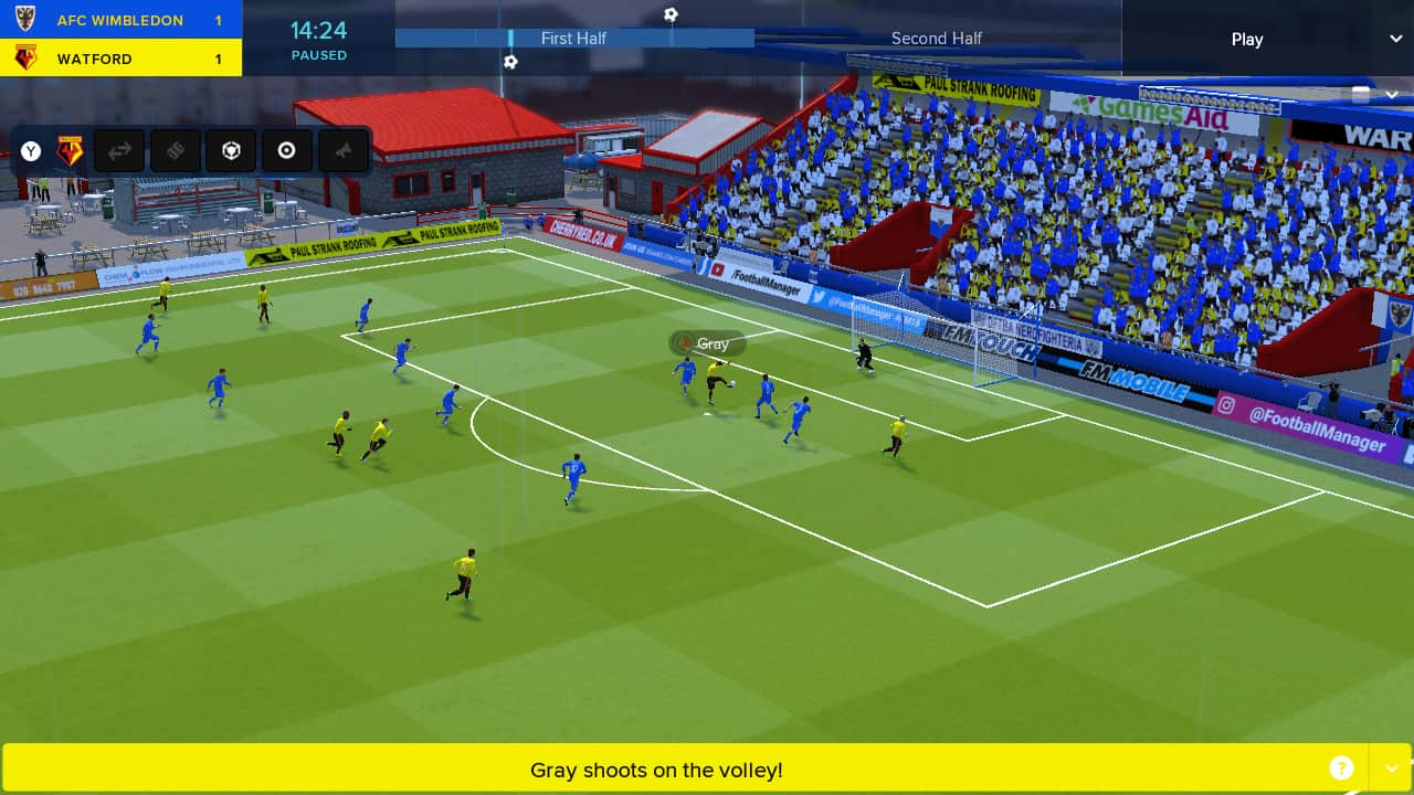 Football Manager Touch 2018 Review Screenshot 2