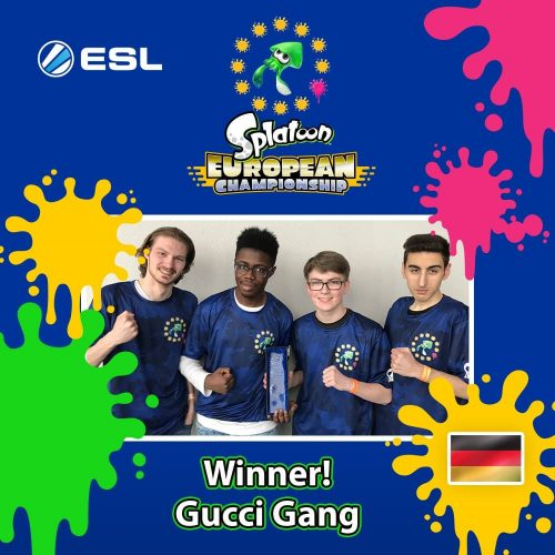 Gucci Gang Splatoon European Championship 2018