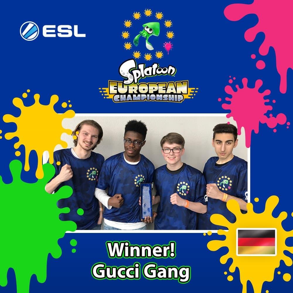 Gucci Gang Splatoon European Championship 2018