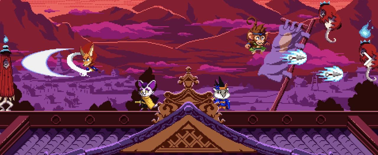 Kemono Heroes Screenshot